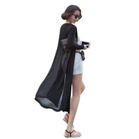 Wholesale Hooded Dress Coats Women - Wholesale- Long Sweater Coat Women Knitted Long Sleeve Korean Vintage Oversized Maxi Cardigan Sweaters Dress