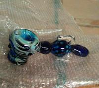 petits tubes gratuits achat en gros de-Colour Hammer Glass Pipe Oil Crâne Bong Bubbler Heady Glass Pipe à main avec 19.5cm de longueur petits tubes de verre pour fumer Gratuit