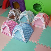 Wholesale Aipet Pet Daily Necessities Colors Dog Cat Houses Kennels Bed Breathable Bracket Tent Puppy Aipet047