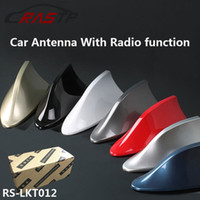Wholesale Ford Car Radios - 2017 Car Antenna Shark Fin Antenna Radio FM Signal Aerials for Auto SUV VW Polo Ford Chevrolet Cruze qashqai Peugeot Toyota KIA