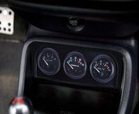 ingrosso calibro automatico 52mm-B735 52MM 3 in 1 Auto Meter Auto Gauge Temperatura acqua Sensore di pressione olio Triple Kit 3 in 1 auto auto calibro semplice operazione