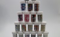 Wholesale Nail Foils Rolls - Roll Flowing Nail Art Polish Transfer Foil Tips Decor Decal Nails Sticker Foils