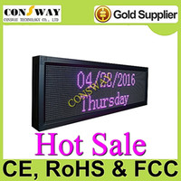 Wholesale led programmable display screen with RGB color and size cm W cm H cm D