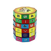 Wholesale Digital Learning Toys - Wholesale- Newest Design Digital Cube Children Educational Learning Math Toys For Kids Hot Selling