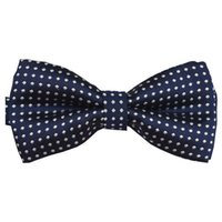 Wholesale Tuxedo Boy Bow Ties - Wholesale- Kids Baby Tuxedo Bowtie Neckwear Wedding Formal Party Bow Tie Necktie Pre-Tied