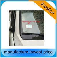Wholesale Car Access Control - Wholesale- access vehicle car control 10M long read range uhf rfid sticker tag 860-960MHZ windshield passive labels 45 * 110 * 0.3 MM