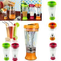 Wholesale Home Electric Mixer - Wholesale- Portable Electric New Protein Shaker Blender Auto Juice Drink Mixer High Quality Bottle Cup For Home Tour Tools 350ml