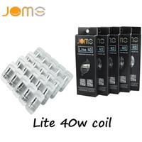 Wholesale Lite Replacement - Jomo Lite 40w Sub Ohm coil Replacement Head Coils for Jomo Lite 40W box mod full kit Free DHL