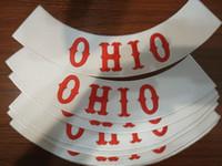 Wholesale Iron Rider - OHIO Free Rider Custom Bottom Embroidery Twill Biker Iron On Patches