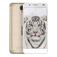 Ulefone Tiger Smartphone 5.5 polegadas Android 6.0 MT6737 Quad Core Celular 2GB RAM 16GB ROM Fingerprint 4G Lte Cell Phone