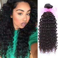 Cheap 4 Bundle Deals Brazilian Kinky Curly Virgin Hair Longo tempo Durável 100-Hair-Extension Brazilian Curly Weave Hot Sell