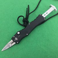 Wholesale Usa Mirror - Hot ANDY MI USA (Mirror Aurora 4) D2 Hunting Folding Pocket Knife Survival Knife Xmas gift for men copies D2 1pcs freeshipping
