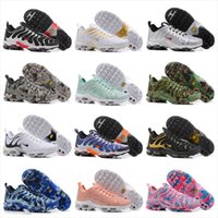 Wholesale Cheap Plus Size Shoes - 2017 New TN Running Shoes Men Women Cheap Air Cushion PLUS Ultra Sports Shoes Hot Sale Top Quality Breathable Sneakers Size 36-46
