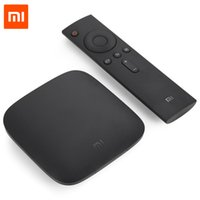 Original Xiaomi Mi 3C TV Box 4K 64bit Android 5.0 Reproductor multimedia Quad Core Amlogic S905 Dolby DTS HDMI RAM 1G 4G Set top box tv + B