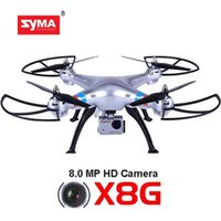 Wholesale kids helicopter camera - Professional Helicopter SYMA X8G X8C X8W X8HG With SJ7000 14MP 1080p Full HD WiFi Camera 2.4G 4CH FPV Quadcopter RC Drone