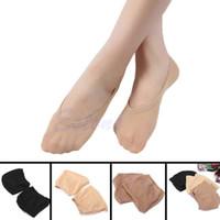 meias chinelo venda por atacado-Atacado - 10 Par Mulheres Flexível Invisível Low Cut Boat Short tornozelo Meia Slipper Loafer-Y107