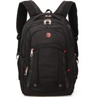 "Wholesale 17 Laptop Backpack - SVVISSGEM High-Quality 1680D nylon 15 - 17"" laptop backpack Scratch-resistant Outdoor leisure Men And Women Duffel Bags"