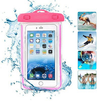 Wholesale Covers For Cell Phones - Cell Phone Camouflage Waterproof Bag Water Proof Bag armband pouch Case Cover For Universal water proof cases for iphone 7 6 6s plus samsung