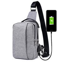 Wholesale Travel Body Wallets - 2017 USB Design Waist Bag Wallet Gift Large Capacity Handbag Hot-Selling Crossbody Bag Designer Travel Bag