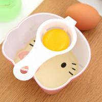 Wholesale Egg Yolk Separator Tool - Mini Egg Yolk White Separator Eco Friendly PP Food Grade Material Egg Divider Tools Dining Cooking Gadget