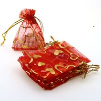 Wholesale Recycled Bracelets - Wholesale- Lowest Price Jewelry Necklace Pendant Earrings Ring Bracelet Gift Bags Silk Bag Pounch Packing 7x9cm 100pcs lot wholesale