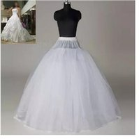 Дешевые бальное платье Bridal Petticoats Sheer Tulle 8 слоёв No Hoop WeddingDress Petticoat 8T 1M Undershirt AI-3 Bridal Accessories