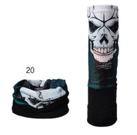 Wholesale Scarves Men Professional - Cycling Bandana Professional design bandanas magic scarf motorcycle bike scarves outdoor sports accessories bike bicycle skull bandanas