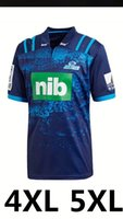 2018 Blues Super Rugby Home Jersey New Zealand Super Rugby Union blues Camicie per il trasferimento di calore ad alte temperature taglia S-5XL MELBOURNE STORM