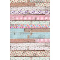 Wholesale background for digital photography resale online - Wood Photography Backdrop for Newborn Digital Printed Multi Colored Flowers Baby Shower Backgrounds Studio Photo Booth Backdrops Vintage