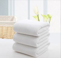 Wholesale Hairdressing Towels - Wholesale towel, cotton white white towel, cotton hotel hotel foot bath beauty salon hairdressing shop towel, free shipping