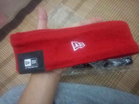 Wholesale Headband Bags - 2 colors fashion BOX LOGO super headband unisex men women sweatband 14fw black red