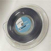 Wholesale Racquet Stringing - Luxilion ALU Power Rough 125 Tennis Racquet String Reel (16L Gauge, 1.25 mm),Silver Color