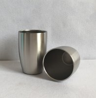 Wholesale Cheap Beer Wholesalers - Double Layer Stainless Steel 250ml Beer Cup Wine Mugs Goods in Stock Cheap Price DHL UPS Free Shipping 50pcs