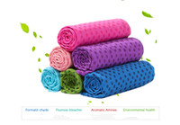 Wholesale 183 cm Hot Sales Health Care Yoga Towel Mat Non slip Yoga Mats for Fitness Yoga Blanket