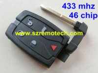 Wholesale Car Remote Key Electronic Chip - Free Shipping Good Quality Remote Car Key 5 Button Smart Card 433MHZ electronic ID46 chip Fit For Land Rover Range Freelander 2