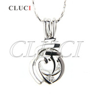 Wholesale Cherries Pendants - AIM Jewelry Pack of 5 silver plated Cherry locket pendant for free shipping 20*6*10mm