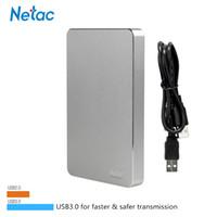 Wholesale Hd 1tb Usb - Wholesale- 100% Original Netac K330 500GB 1TB 2TB HDD USB 3.0 External Hard Disk Drive HD Disc Storage Devices 1TB External Hard Drive Disk