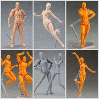 Wholesale Action Figure Weapons - Toy Voxel Action Figure Model Zabing Walk On Toys Black And Gray Supporting Characters With A Hand Weapon 28ldh H1