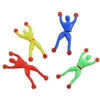 Wholesale Sticky Spider Man - Strange new creative toys Climbing Spider-Man somersault magic sticky climbing Climbing Superman Spiderman people