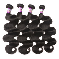 Indian Virgin Hair Body Wave Bundles Remy Hair 8-28 pouces Indien Couleur naturelle 100 cheveux humains Extensions de tissus Straight Deep Kinky Curly