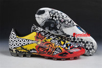 Wholesale Nail Shoes Running - Casual Running shoes F50 Adizero tattoo FG Limited edition New tattoo love and hate AG nail stuffed Football shoes
