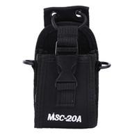 Wholesale Case For Walkie Talkie - Walkie Talkie case MSC-20A Holder Pouch Bag Backpack For Kenwood BaoFeng UV-5R