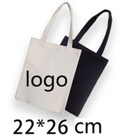 Wholesale Digital Printed Cotton Fabric - Custom printed logo eco-friendly cotton canvas shopping bags fashion cotton fabric bags one shoulder tote bags can custom logo