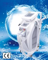 Wholesale Ipl Machines For Face - SM hot selling 3 in1 elight ipl RF nd yag laser for hair removal ipl beauty machine free shipping