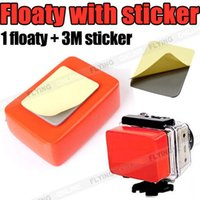 Wholesale Floaty Backdoor - Floaty Backdoor 3M Adhesive for GoPro HD Hero 4 3+ 3 2 Camera Accessories Float