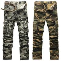 Wholesale Work Camo Cargo Pant - Camo Pants Men Fashion 2017 New Arrival Slim Fit Camouflage Work Pants Men Sweatpants Cargo Pants