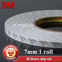 Wholesale Tissue Tape Wholesale - Wholesale- 2016 7mm width 3M 9080 Double Coated Tissue Adhesive Tape, High-Temperature Withstand for LED LCD Strip, Tablet Mini Pad Phone