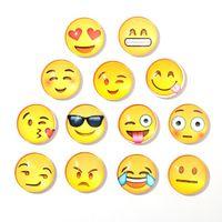 nevera de diseño al por mayor-Imán de nevera Emoji PVC 25MM imán decoración para el hogar refrigerador pegatinas magnéticas imanes de refrigerador nuevo diseño envío gratis