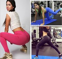 Wholesale Girls Leggings Working Out - 2016 Womens Workout Gym Printed Legging Fitness Clothing For Women Leggings Sport Pants Work Out Sports Jeggings Girls Leggins