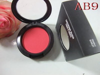 Wholesale product names - 1PCS FREE SHIPPING MAKEUP Lowest NEW product Shimmer Blush 24 color No mirrors no brus 6g English Name